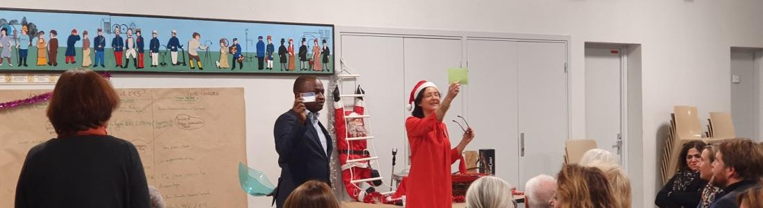 Notre belle soirée conviviale «Pour Noël, le cadeau c'est vous!»