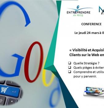 Retour sur la conférence du 24 mars «Visibilité et acquisition de clients sur le web»