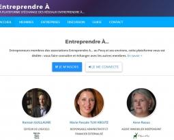 La nouvelle plateforme Entreprendre À